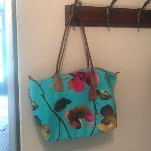 Roberta Pieri lightweight nylon bag flower print.